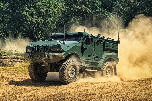 2nd generation of 4×4 MRAP class vehicle PATRIOT